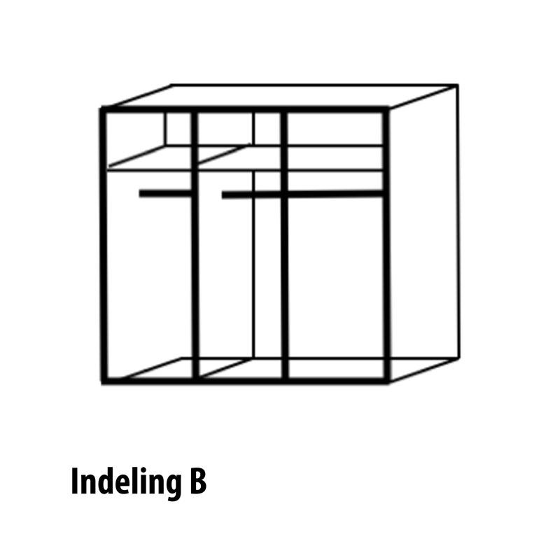 3 deurs indeling variant B