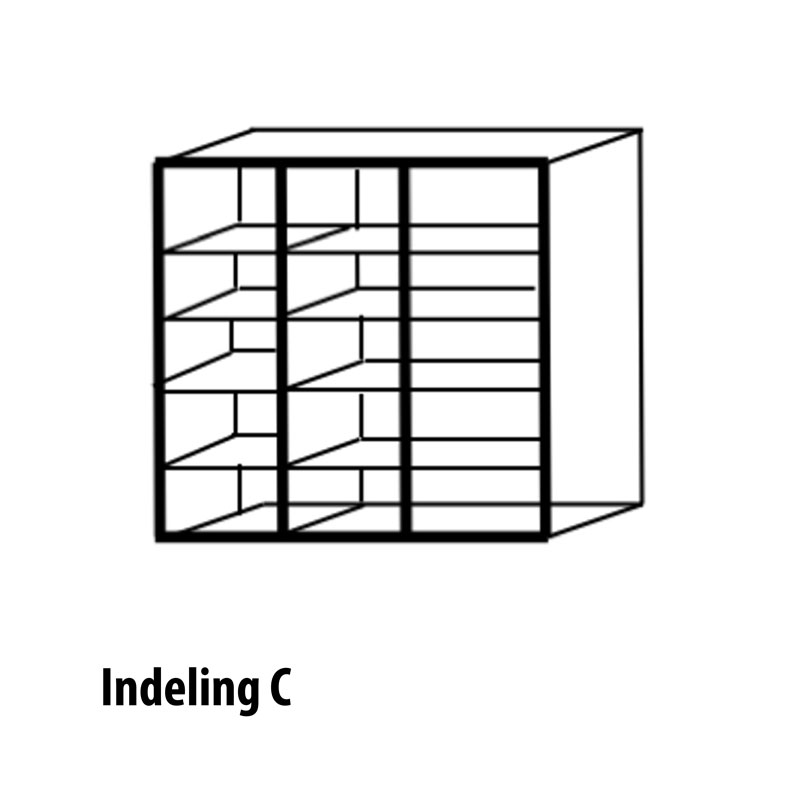 3 deurs indeling variant C
