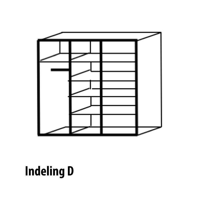 3 deurs indeling variant D