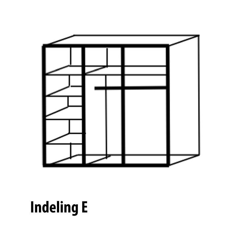 3 deurs indeling variant E
