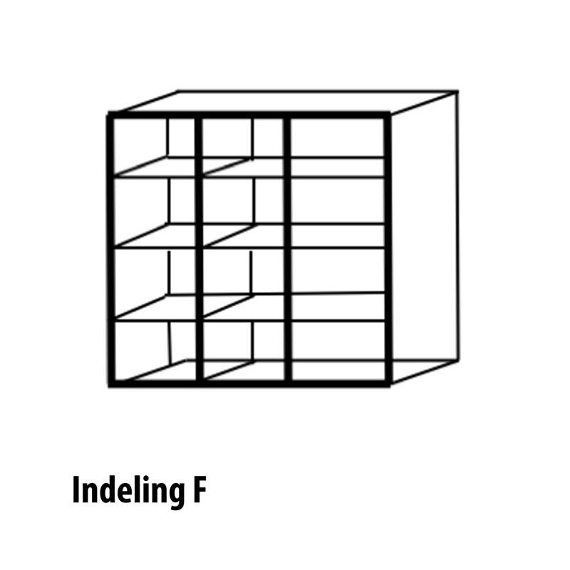 3 deurs indeling variant T