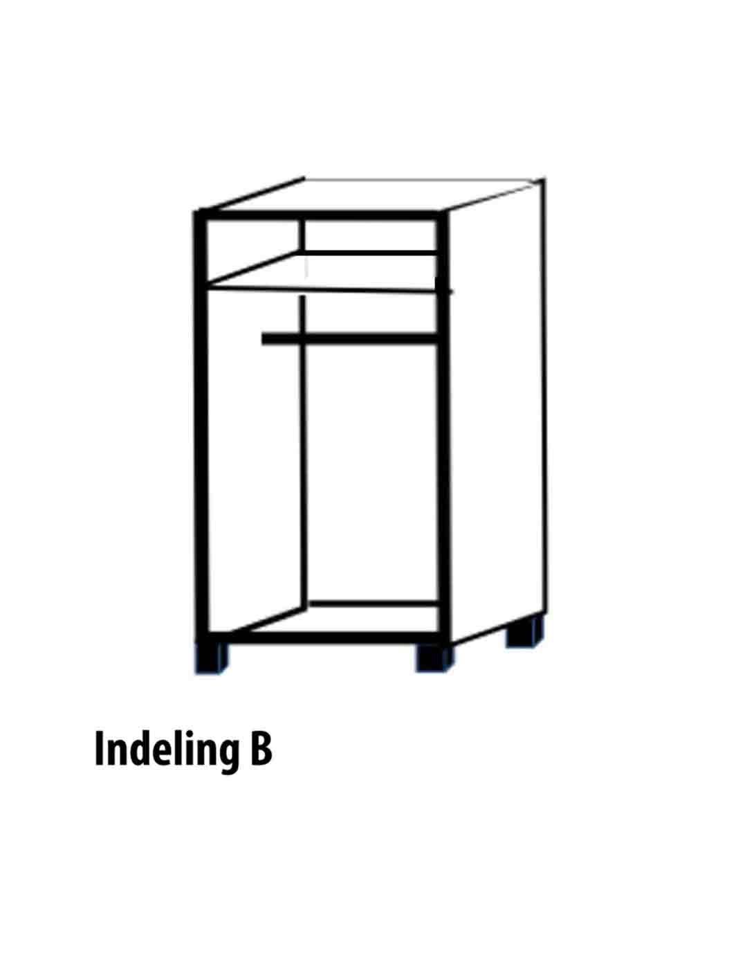 Tweedeurs-Indeling-B