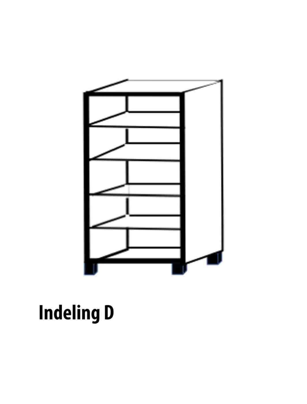 Tweedeurs-Indeling-D