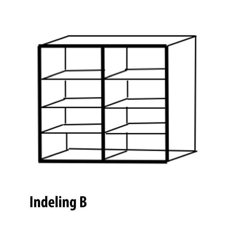 4 deurs indeling variant B