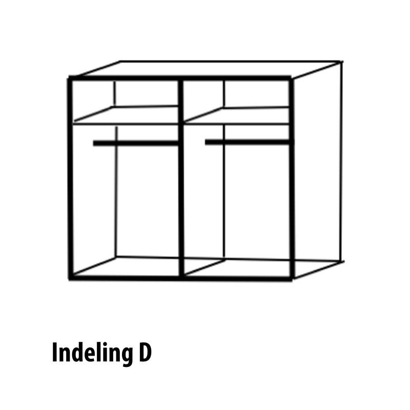 vierdeurs indeling variant D