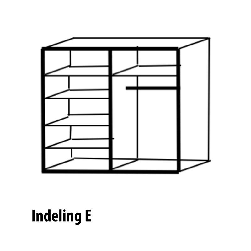 4 deurs indeling variant E