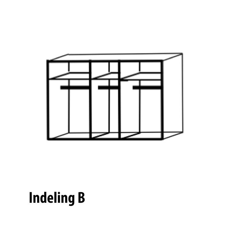 5 deurs Indeling B