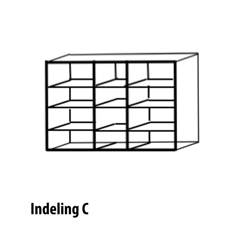 5 deurs indeling C