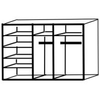 5 deurs indeling E