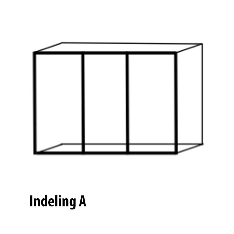 6 deurs indeling variant A