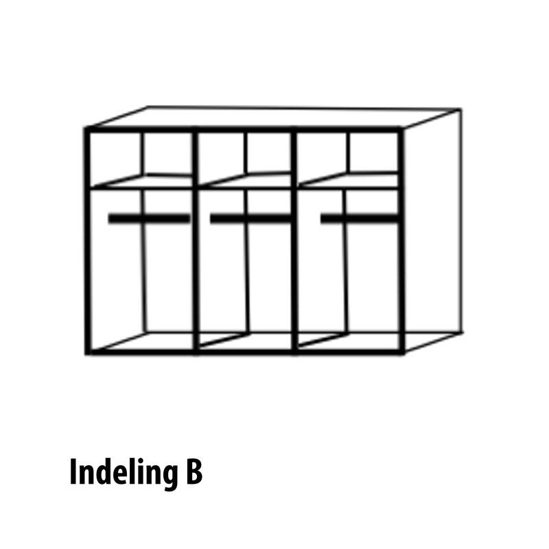 6 deurs indeling variant B