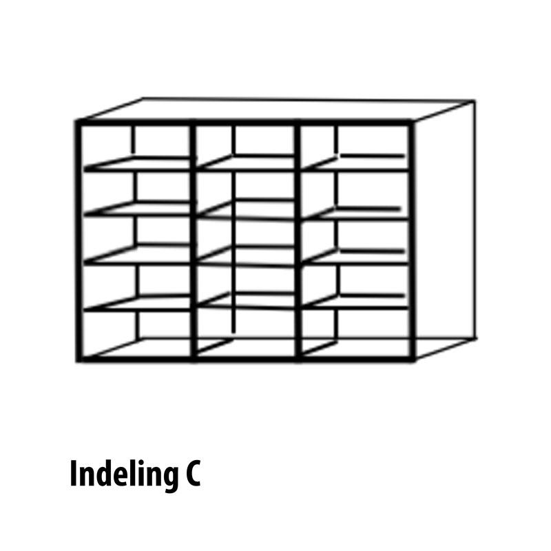 6 deurs indeling variant C