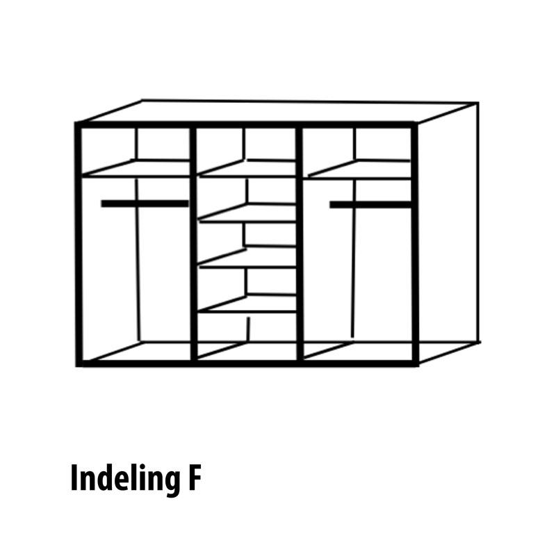 6 deurs indeling variant F